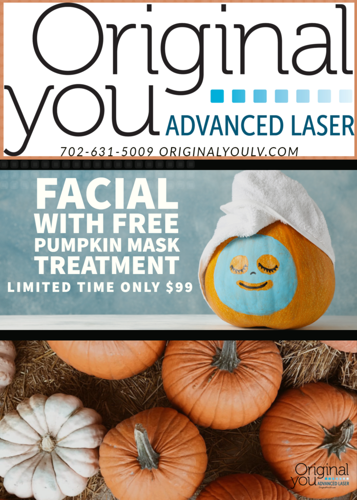 Facial with Free Pumpkin Mask Treatment